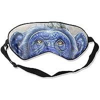 Sleep Eye Mask Chimpanzee Bird Lightweight Soft Blindfold Adjustable Head Strap Eyeshade Travel Eyepatch preisvergleich bei billige-tabletten.eu