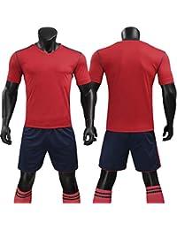 3359cd82ed577 LQZQSP Conjunto De Camisetas De Fútbol para Hombres Juego De Fútbol  Survetement Camisetas De Fútbol para