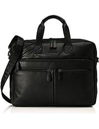 Bodenschatz Business Bag, Sacs pour ordinateur portable mixte adulte, Schwarz (Black), 14x31x43 cm (L x H D)