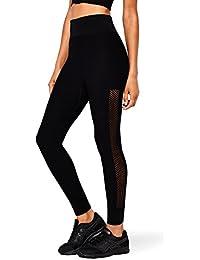 AURIQUE Legging de Sport sans Coutures Taille Haute Femme