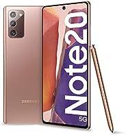 "Samsung Galaxy Note20 5G Smartphone, Display 6.7"" Super Amoled Plus Fhd+, 3 Fotocamere Posteriori, 256Gb,"