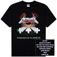 Adulti con licenza ufficiale Master Of Puppets