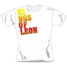 Kings of Leon - Girl Shirt Block Logo (in S)