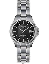 Pulsar Damen-Armbanduhr Analog Quarz Titan PH7437X1