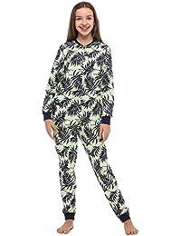 1b5aa8848958f Merry Style Combinaison Pyjama Grenouillère Manche Longue Pantalon Vêtement  d Intérieur Fille ...