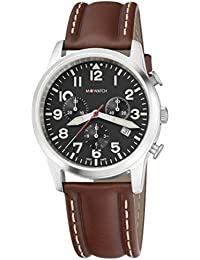 M-WATCH Aero 41 Analog Black Dial Men's Watch-WBL.08420.LG