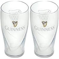 Guinness Glas 2er Set Harfe