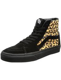Vans U Sk8-hi (Leopard) Black, basket mixte adulte