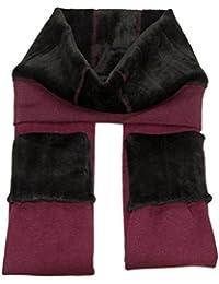 Leggings de invierno de terciopelo, supergruesos y elásticos, de la marca CrazySell