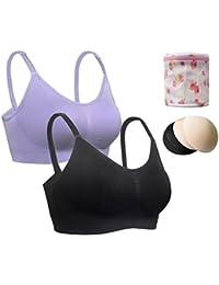 iLoveSIA® Damen Komfort BH ohne Bügel Nahtlose