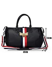 Diseño Bolsa de Viaje de Gran Capacidad para Mujeres y Hombres Bolsa de  Deporte portátil Gimnasio baca3fc5e3c0d