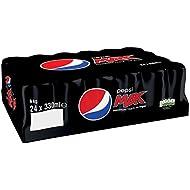 Pepsi Max, 330 ml (Pack of 24)