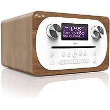 Pure Evoke C-D4 All-in-One-Musikanlage (CD, DAB+ Digital-, UKW-Radio, Bluetooth inkl. Fernbedienung) walnuss