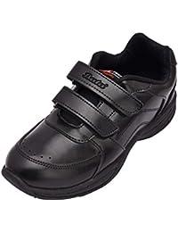 BATA Boy's Black Synthetic School Shoes - 4