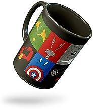 Tee Mafia Ceramic Coffee Mug - 1 Piece, Black, 330 ml