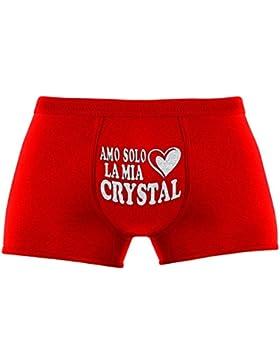 Regali originali per uomo | Amo solo la mia Crystal | Compleanno |Natale | Regalo di Natale