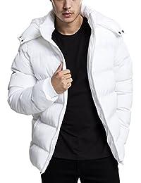 Urban Classics Hooded Puffer Jacket, Blouson Homme