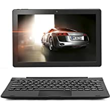 "2in1 Android Laptop tablet, 10.1"" inch Android Tablet, Google Android 7.0 Nougat , 16 GB Tablet PC Expandable up to 128GB, 64 Bit Quad Core up to 1.5 GHZ processor , Dual Camera, WiFi, Bluetooth, 800x1280 IPS, Multi-touch screen, Google Play Pre-loaded. Connectible Keyboard Case included in Bundle offer. - ZAITH (10"")"