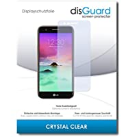 """2 x disGuard® Screen Protector LG K8 (2017) Screen Protection Film """"CrystalClear"""" invisible"""
