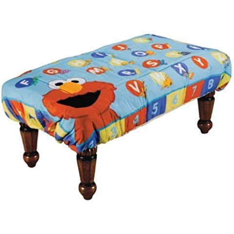 ABC Fun Pads Safety Table Cover, Learn with Elmo, Large by ABC Fun Pads, Inc.