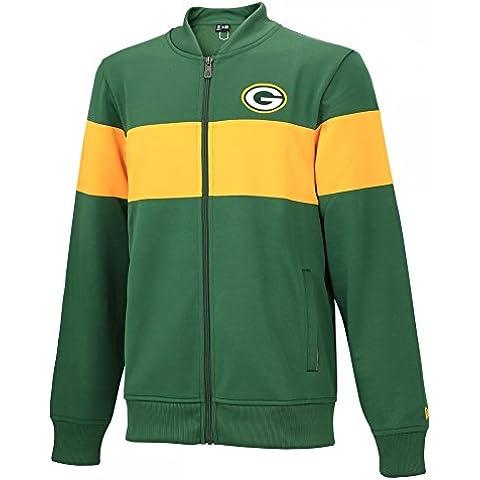 Green Bay Packers–New Era–Track Jacket Summer Refresh–Green/Yellow, verde, M