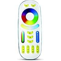 Milight 2.4G RF Wireless 4-zone RGB + CCT controlador remoto Utilizado para controlar milight RGB +CCT WiFi bombilla LED GU10 MR16,6W 9W 12W E27,4W MR16, 50W LED Flood Light, Tira de LED Controller Box