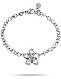 Morellato Joyas pétalos de flores de acero SAJR08