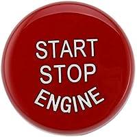 Motor de Coche Start Stop Interruptor de botón substituya la Cubierta de Ajuste para el BMW Serie 3 E60 E70 E71 E90 E92 reemplazos directos