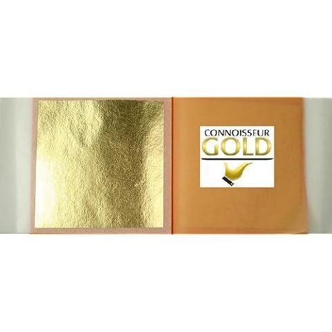 Hojas Adhesivos 5 Oro Original 23.5 ct
