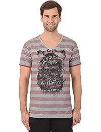 Trigema T-shirt rayé coupe slim
