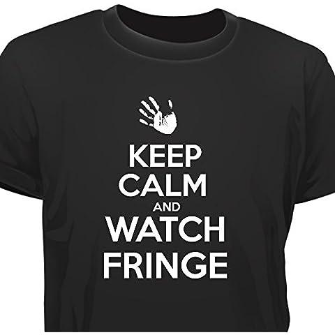 Creepyshirt - KEEP CALM AND WATCH FRINGE T-SHIRT