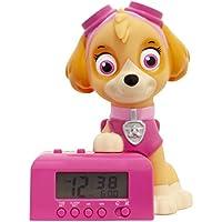 BulbBotz Réveil veilleuse avec Sons du Personnage pour Enfant Pat' Patrouille 2021760 Stella, Plastic, Rose, 14cm