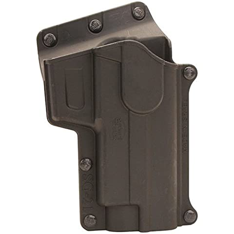 Fobus S&W 3913, 3913T, 3914, 3919, Cs9, 4013, 5904, 5906, 6906 Standard Series 910, 915 Roto-Holster Belt, Black, 2 1/4, Right by Fobus
