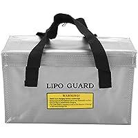 Smandy Lipo - Bolsa de Almacenamiento para baterías de Gran Espacio (Resistente al Fuego, con asa)