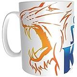 IPL Cricket Team - Chennai Super Kings Logo - Birthday Anniversary Everyday Gift Mug - Cricket Fan Design Mug
