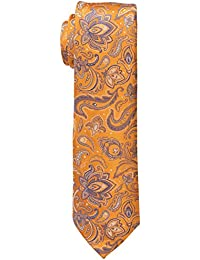 Haggar Men's Tall Performance Extra Long Paisley Necktie