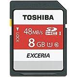 Toshiba Exceria N301 Carte mémoire SDHC 8 Go (UHS-I, U1)
