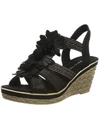 ddbe97a584 MARCO TOZZI Women's 2-2-28302-22 Closed Toe Sandals