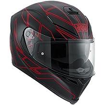 AGV Casco Moto K-5S E2205Multi plk, Hero negro/rojo, S