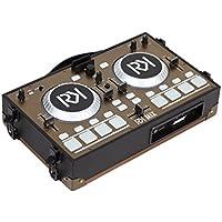 rockklik rk-mix controlador Dj portátil negro con Garniture dorada