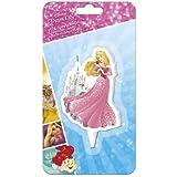 Con Licencia Oficial Disney Princesa Aurora 2d Pastel VELA CON RADIOS A seguro en la torta