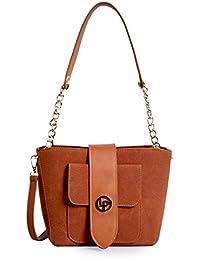 Lino Perros Tan Hand Bag