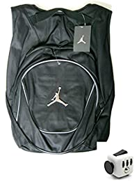 3ab22d5ed224 Nike Air Jordan Jumpman 23 schwarz Book Tasche Rucksack mit gratis zappeln  Cube
