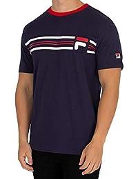 3425c8af604 Fila Vintage Bruno Cut   Sew Panel T-Shirt