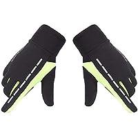 Biback Touchscreen Handschuhe Winter Damen Herren Fahrradhandschuhe Warm Handschuhe Vollfinger Fahrradhandschuhe Rutschfeste Sporthandschuhe Winddicht Gloves