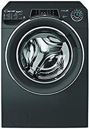 Candy WasherDryer 9kg wash + 6kg dry - 1400rpm - Anthracite - Chrome Ring - Rapido - Wifi+BT - Steam - Class A