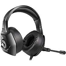 Là Vestmon Auriculares Gaming - ONIKUMA K6 Gaming Headset través de oído Stereo con Noise Cancelling