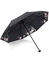 2f4f10c35 Sombrilla para El Sol Mujer Protector Solar UV Paraguas Plegable Doble Uso  Pequeño Paraguas Fresco Diosa