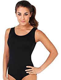 KRISP® Body Moulant en Lycra Leotard Gym