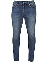Pierre Cardin Homme Jeans Premium Coton Coupe Droite 5 Poches en Denim